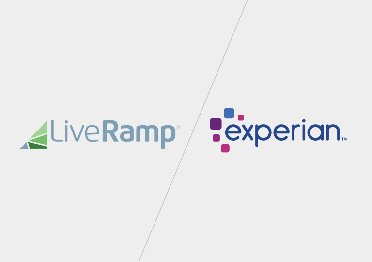 LiveRamp and Experian become new partners